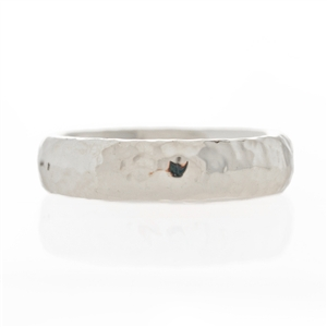 Hammered Stackable Band