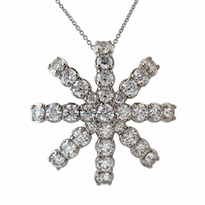 HopeStar 2.90ct Diamond Pendant Necklace