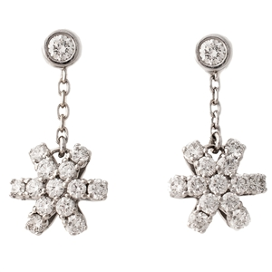 HopeStar 35 Diamond Drop Earrings with Studs