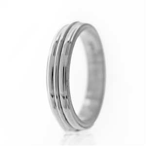 Middle Rail Men's Wedding Band