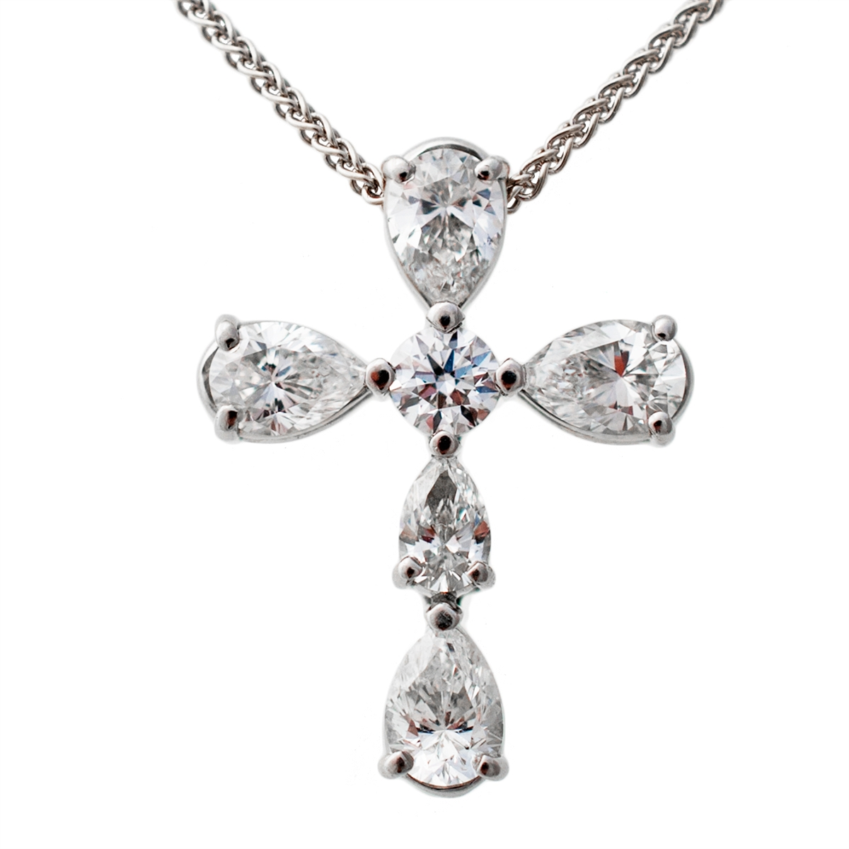 tribute set bezel solitaire forevermark pear pendant diamond