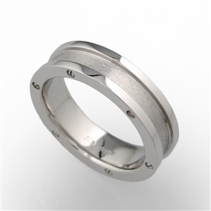 Screw Head  Men's Wedding Band
