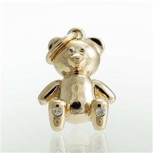 Teddy Bear Pendant or Charm
