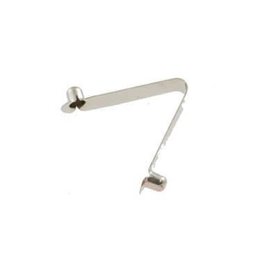 Clip, Spring Double S/Steel 1/4 INCH