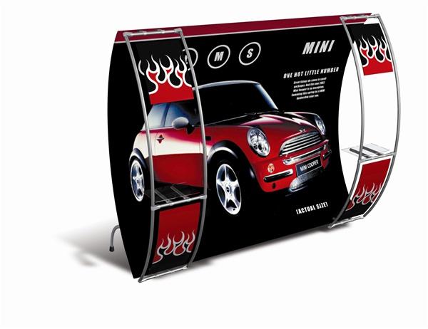 Mini Cooper 10ft Entasi Trade Show Display
