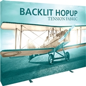Backlit 10 ft Hopup Display