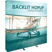 Backlit 8 ft Hopup Display
