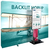 Backlit 10 ft Hopup - XL Media Kit