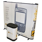 Premium Straight 10 ft Pop-Up Display