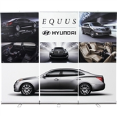 Value Retractable Banner Wall with Graphic