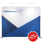 EcoTube 10 ft Straight Tension Fabric Display