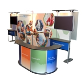 Exhibit Line Display - Time Warner Package