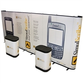 Premium 20 ft Straight Pop-Up Display