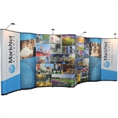 Value 20 ft Gullwing Display with Bubble Panels