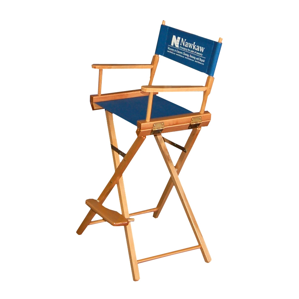 30 Directors Chair with Optional Vinyl Logo Trade Show Chairs