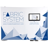 10 ft ExpoLinc Fabric System & Monitor Stand