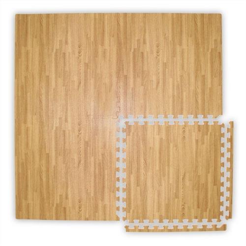 10x10 Interlocking Soft Wood Tile Trade Show Flooring