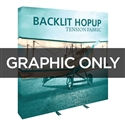Backlit 8 ft Hopup Replacement Graphic