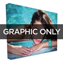 10 ft Straight Backlit VBurst Replacement Graphic