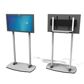 "Exhibit Line Plasma Stand - 36"" to 50"""