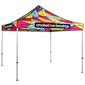 10 ft Pop Up Event Tent - Full Printed Canopy