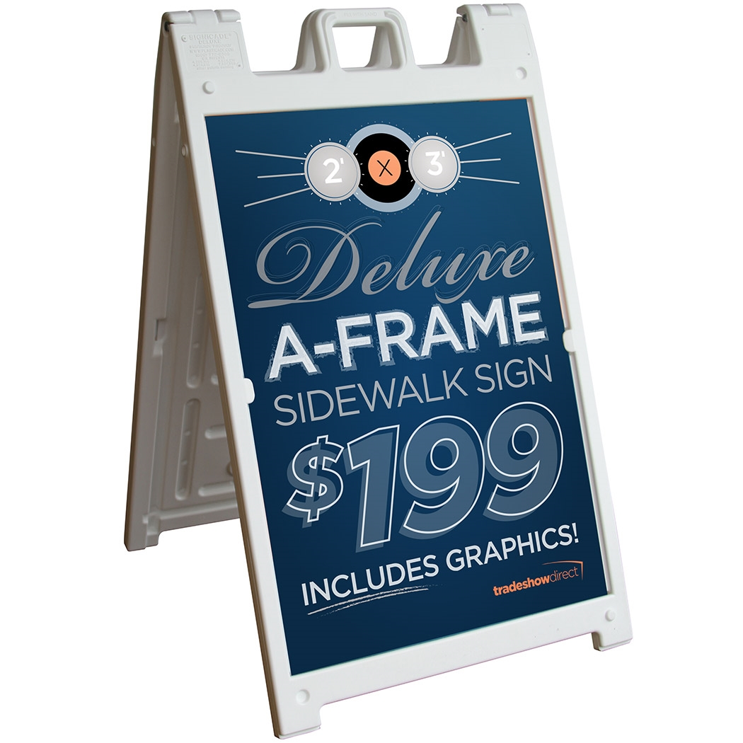 Deluxe A-Frame Sign | Sign Holders