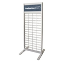 Premium Freestanding Slatgrid Display