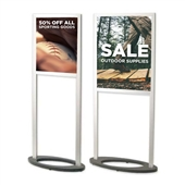 Premium Sign Holder - Straight