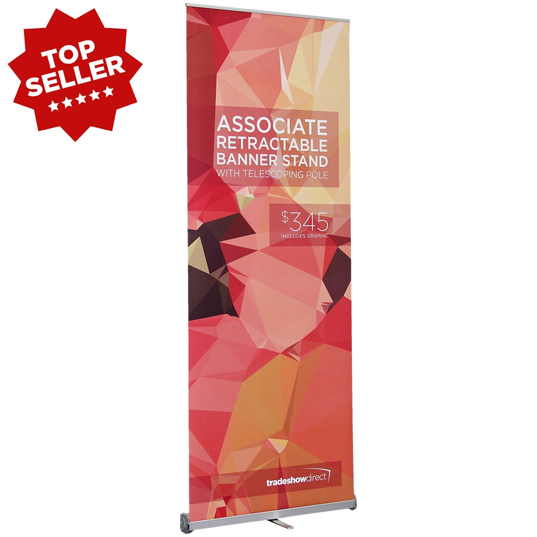 Associate retractable banner stand pull up banner stands for Volusion templates for sale