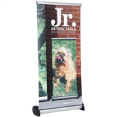 Junior Retractable Banner Stand with Graphic