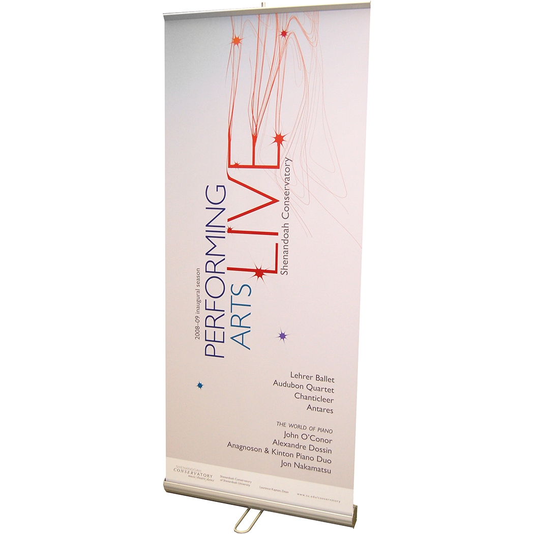 Value Retractable Banner Stand | Pull Up Banners