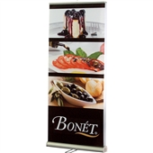 Double Sided Value Retractable Banner Stand with Graphic