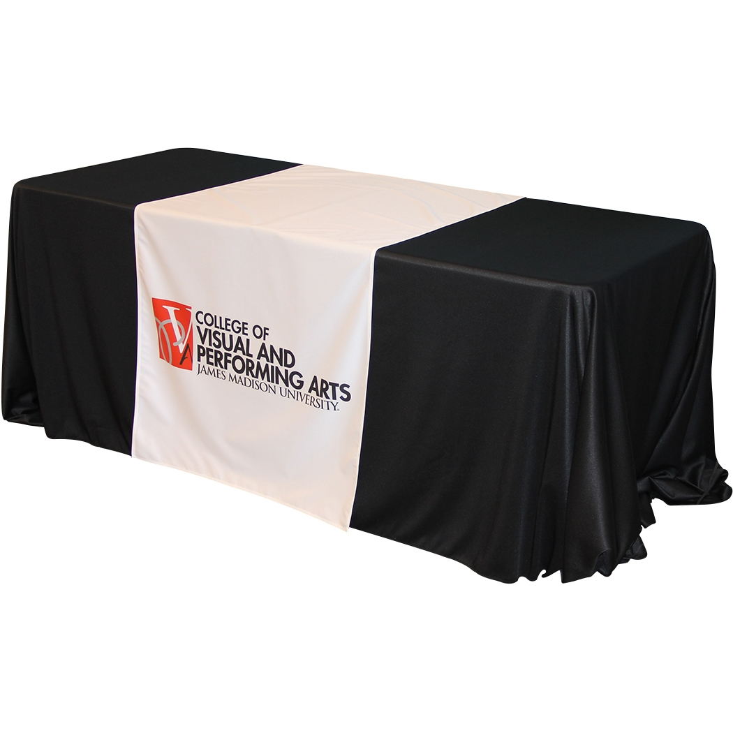Table Runner With Logo Covers