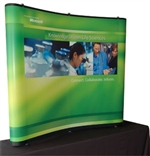 Value 6 ft Table Top Pop-Up Display