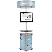 Circle Twist Kiosk with Halo - Kit