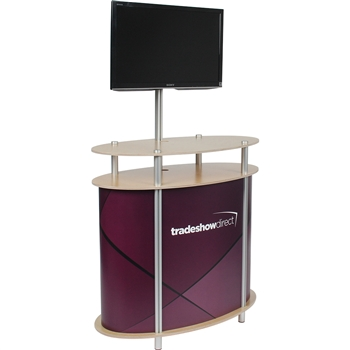 Ellipse Twist Kiosk