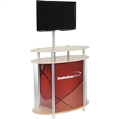 Ellipse Vertical Showcase Twist Kiosk