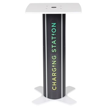 Square Twist Bar Table Charging Station