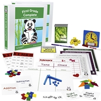 First Grade Complete: An All-Inclusive Homeschool Curriculum- Full Year Bundle