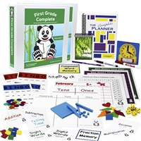 Homeschool Complete: First Grade Complete All-Inclusive Homeschool Curriculum, Deluxe Bundle