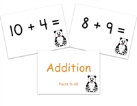 Addition Flashcards Sums to 20