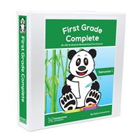 First Grade Complete Student Workbook: Semester One