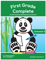 First Grade Complete Teacher's Manual Semester Two: Download