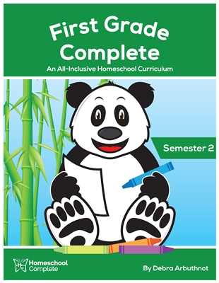 First Grade Complete Teacher's Manual (Including Student Workbook) Semester Two: Download