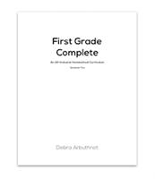First Grade Complete Student Refill Pages: Semester Two