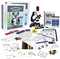 Homeschool Complete: Fourth Grade Complete Deluxe Curriculum Bundle