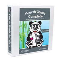 Homeschool Complete: Fourth Grade Complete Teacher's Manual (Including Student Workbook): Semester One
