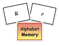 Homeschool Complete All-Inclusive Curriculum Alphabet Memory Game