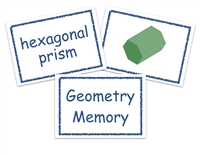 Homeschool Complete All-Inclusive Curriculum Geometry Memory Game