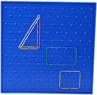 Geoboard and Rubber Bands